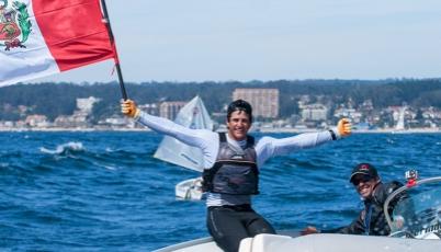 Laserista Stefano Peschiera sigue escalando posiciones en el ranking mundial