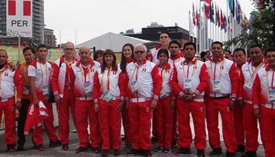 Bandera peruana ya flamea en los Panamericanos 2015