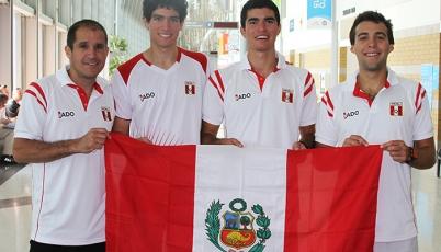 Así entrena el Team Perú de Squash antes de competir en Toronto 2015
