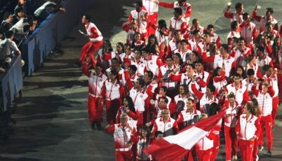 Team Perú brilló en la inauguración de los XVII Juegos Panamericanos Toronto