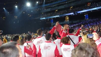 Desde adentro, viva lo mejor del Team Perú en la inauguración de Toronto 2015