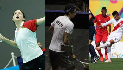 Team Perú en Toronto 2015: Resultados de ayer domingo