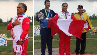 Así se premió a Francisco Boza tras la medalla de oro conseguida en Toronto 2015