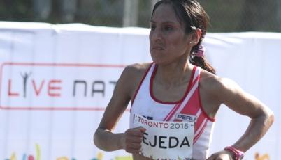 Gladys Tejeda tras obtener la de oro:  Solo vine a Toronto a ganar