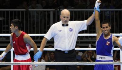Boxeador Forvi Farroñan avanzó a cuartos de final de los Juegos Panamericanos Toronto 2015