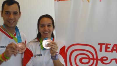 Badmintonistas Cuba y Winder:  La bronce la cambiaremos por la de oro en Lima 2019