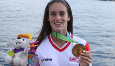 Natalia Cuglievan:  Esta medalla de oro es un sueño para mí