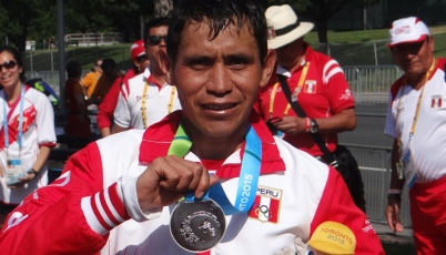 Raúl Pacheco consiguió para el Team Perú la décimo cuarta presea en Toronto 2015
