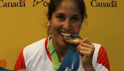 Esto es lo que se viene para Alexandra Grande tras su medalla en Toronto