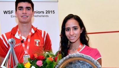 Diego Elías se coronó Bicampeón Mundial Juvenil de Squash
