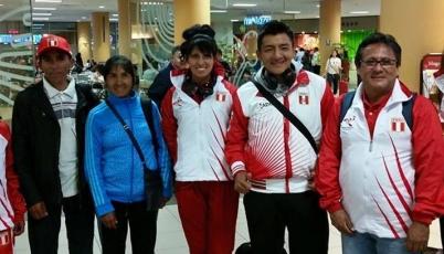Team Perú de Atletismo ya se encuentra en Beijing para competir en Mundial