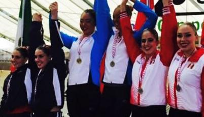 Team Perú de Nado Sincronizado conquistó la medalla de plata en el Panamericano UANA 2015