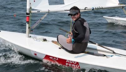 Stefano Peschiera cumplió una destacada participación en el Mundial Sub 21 de Láser