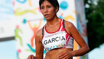 Atleta Kimberly García competirá en el Mundial este jueves