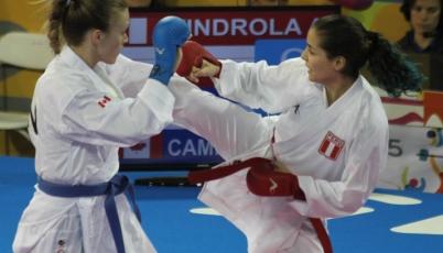Karateca Alessandra Vindrola va por el podio al Campeonato Panamericano en Bolivia