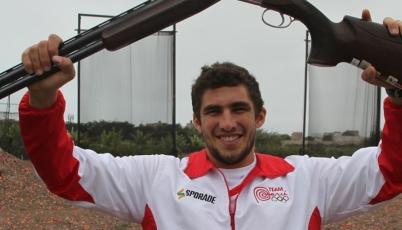 Tirador Nicolás Pacheco buscará pase olímpico en Mundial de Escopeta