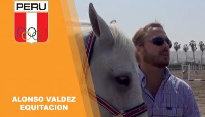 Alonso Valdez - equitación