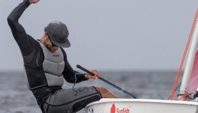 Alexander Zimmermann se coronó campeón mundial de sunfish