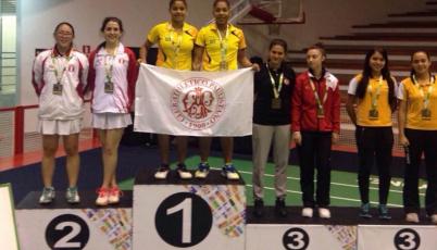 Macías y Nishimura conquistan la de plata en el XXX Brasil International Badminton Cup