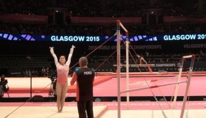 Gimnasta Ariana Orrego clasificó al pre-olímpico en busca de un cupo para Río 2016