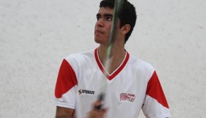Squashista Diego Elías ya está en octavos de final del Mundial