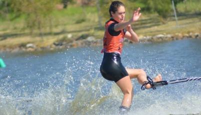Natalia Cuglievan conquistó la quinta posición en el Mundial de Esquí Acuático en México