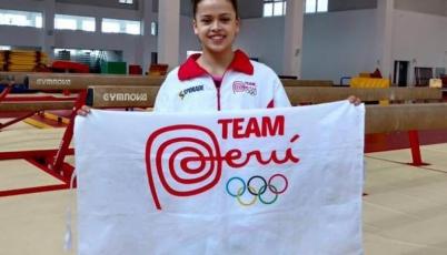 Ariana Orrego: Quiero hacer historia en la gimnasia