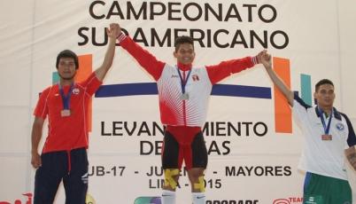 Team Perú de Pesas se bañó de oro en el Sudamericano 2015
