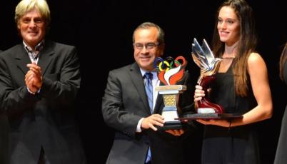Esquiadora Natalia Cuglievan fue elegida como la mejor deportista del 2015