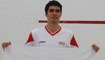 Diego Elías estuvo cerca de vencer a uno de los Top 20 de Squash en el Open de Cartagena 2016