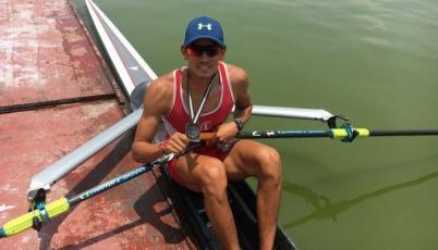 Remero Renzo León: Si sigo compitiendo como lo estoy haciendo estaré en Río 2016