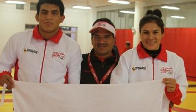 Luchadores Sovero y Ambrocio conquistaron medallas en el Panamericano