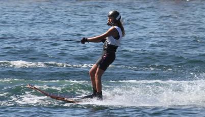 Esquiadora María Alejandra de Osma se proclamó bicampeona en el Moomba Masters de Australia